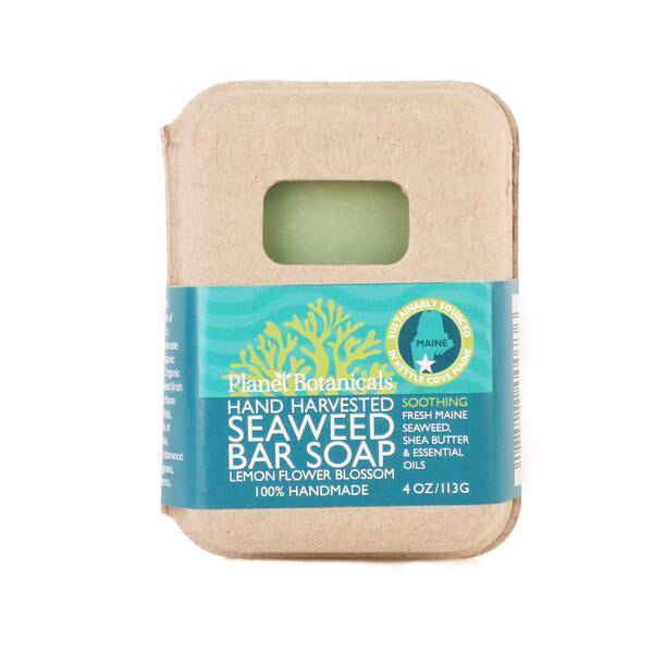Planet Botanicals Seaweed Bar Soap · Lemon Blossom