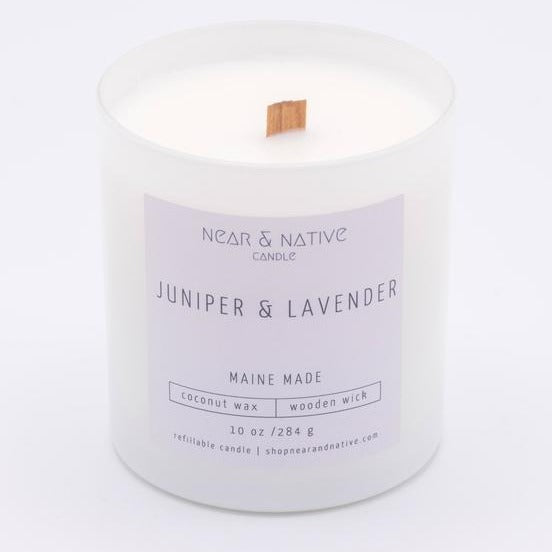 Juniper & Lavendar Candle by Near & Native