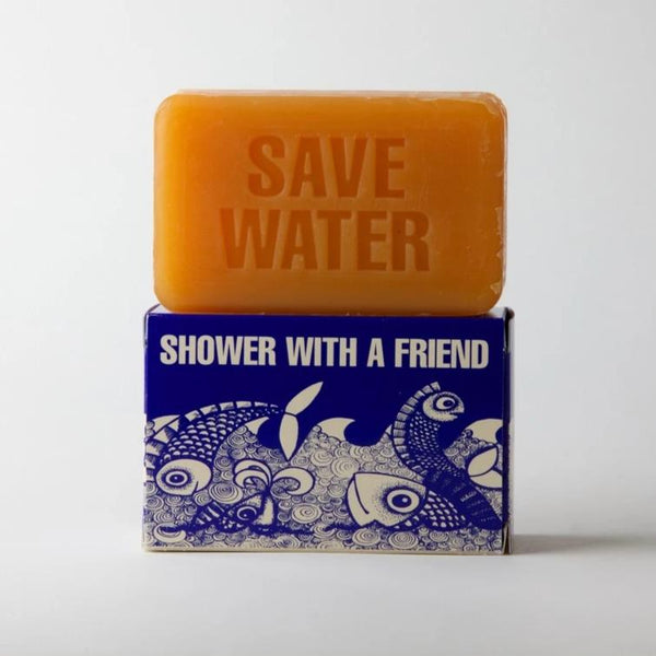 """Save Water (Shower With A Friend)"" Soap Bar · 9oz"