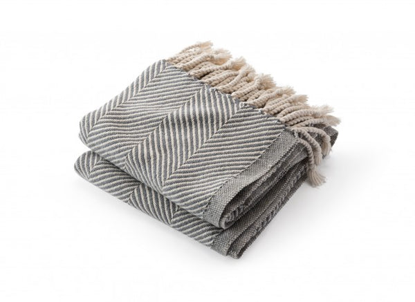 Monhegan Cotton Throw Blanket