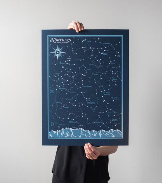 Northern Hemisphere Star Chart