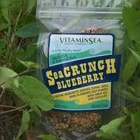 Blueberry SeaCrunch Bar with Maine Kelp Seaweed by VitaminSea