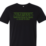 """Seaweed Things"" Unisex T-Shirt - Vintage Black"