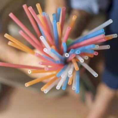 Reusable Sustainable Silicone Straws