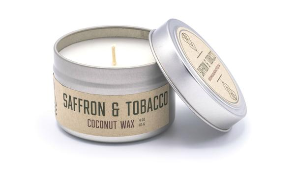 Saffron & Tobacco Candle by Near & Native