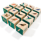 Birds - Wood Blocks