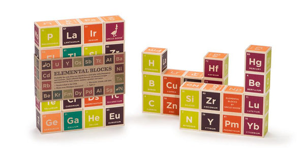 Periodic Table - Wood Blocks