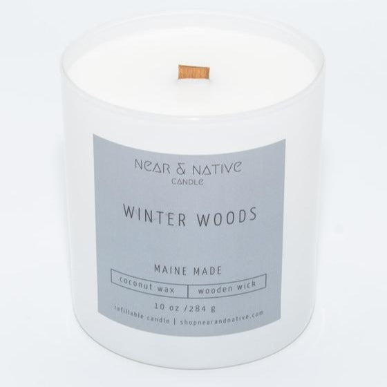 Winter Woods Candle by Near & Native