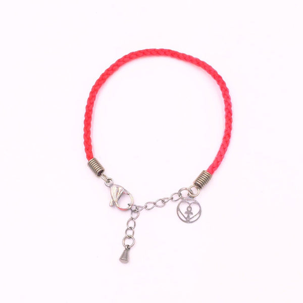 Marine Debris Bracelet - Right Whale (Red)