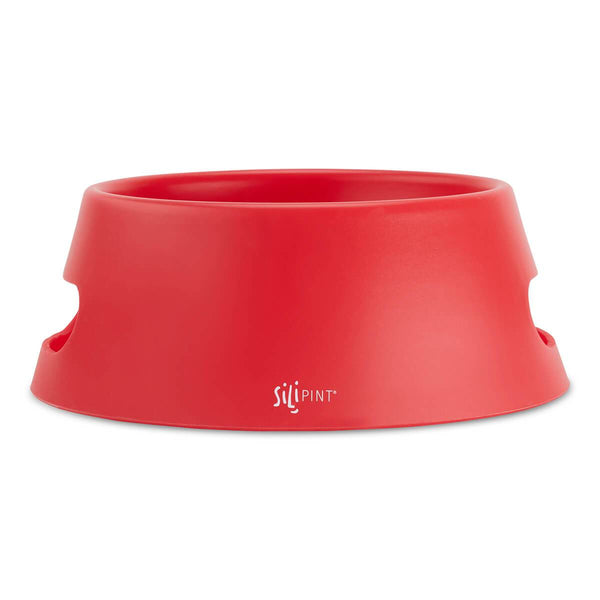 Silicone foldable dog bowl