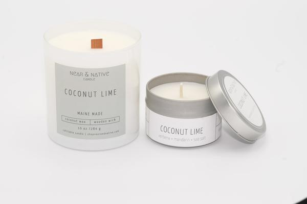 Coconut Lime Candle by Near & Native