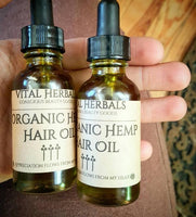 Hemp Hair Oil