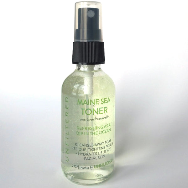 Maine Sea Toner · 2oz · Unfiltered Skincare