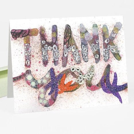 Thank You Card · Tidepool Sea Stars