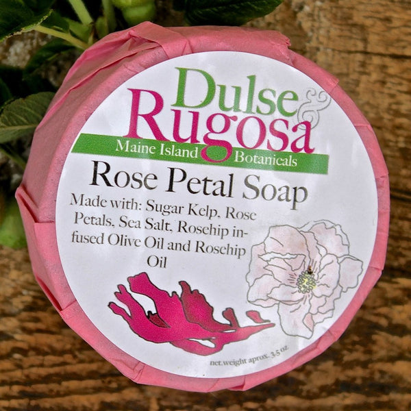 Rose Petal Soap (3oz) Dulse & Rugosa