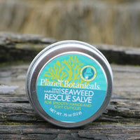 Seaweed Hand & Cuticle Rescue Salve .75oz Made in Maine by Planet Botanicals