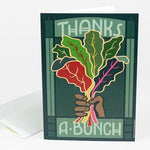 Thanks A Bunch Card Greeting Card