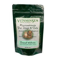 Overall Wellness Seaweed Micronutrients for Dogs & Cats by VitaminSea