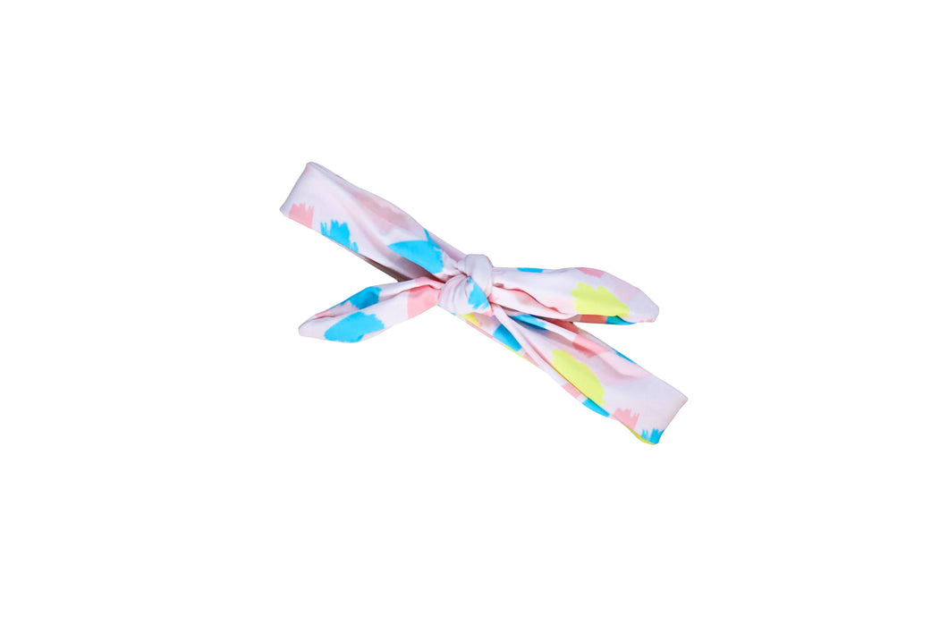 Pastel Paint Splash Headwrap