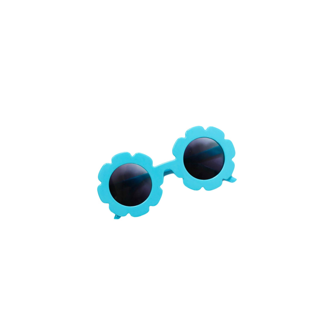 Aqua Flower Sunnies WHOLESALE