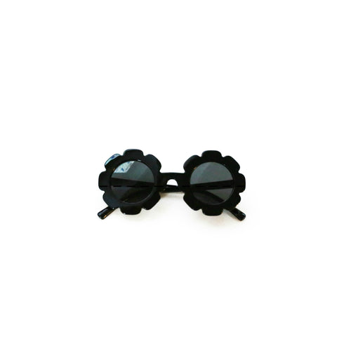 Black Flower Sunnies