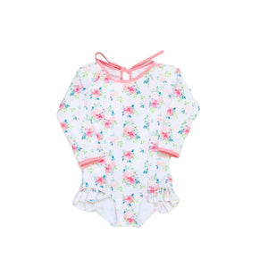 Floral Seasons One Piece Swimsuit