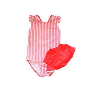 Seaford One Piece Swimsuit with Skirt