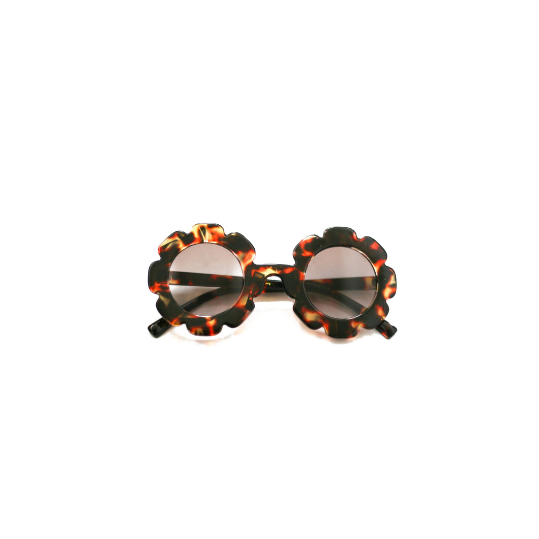 Brown Flower Sunnies