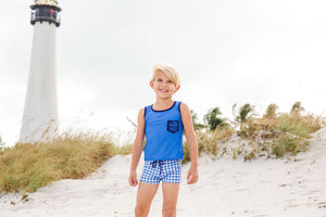 Gone Coastal Sleeveless Rash Guard