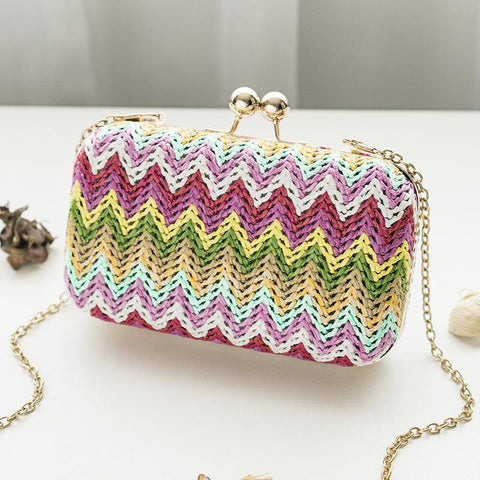 Image of Aida Multicolor Small Clutch