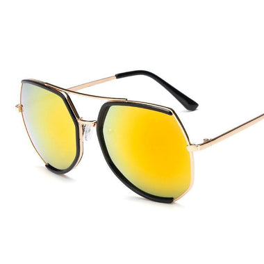 Joyful Full Frame Polygon Sunglasses