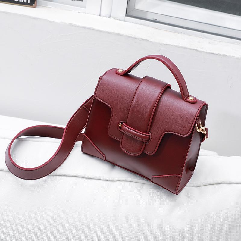 Atarah Leather Flap Vintage Mini Handbag
