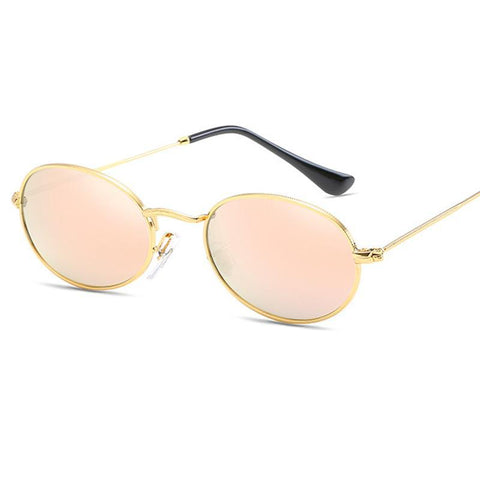 Annisca Colorful Oval Sunglasses
