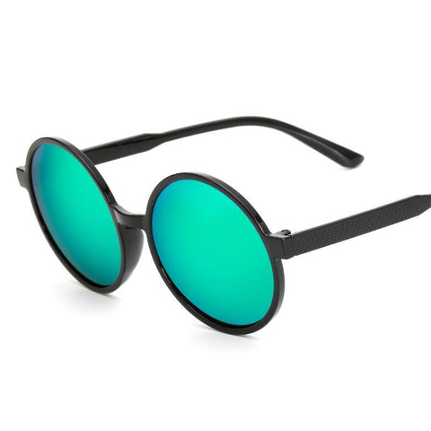 Image of Éva Round Steampunk Sunglasses