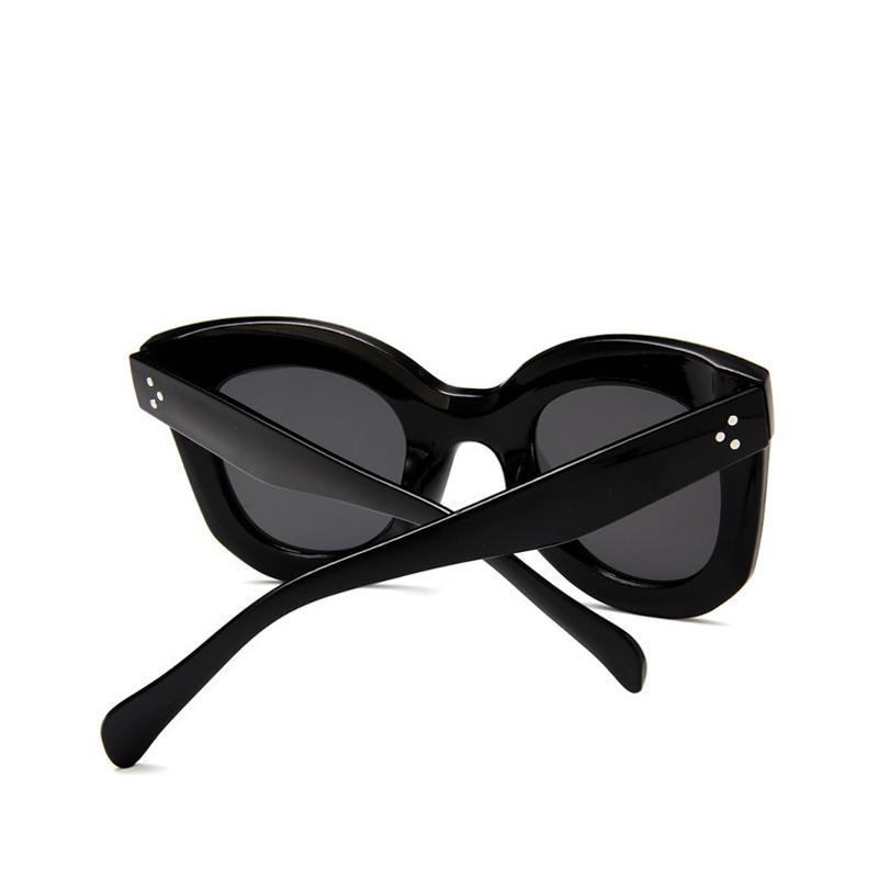 Émy Retro Oversized Full Frame Sunglasses