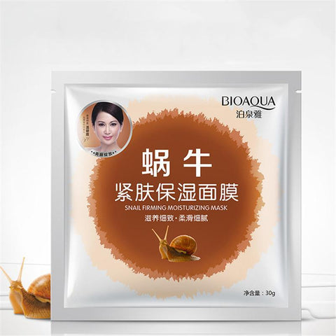 Image of BIOAQUA Snail Essence Firming Facial Mask