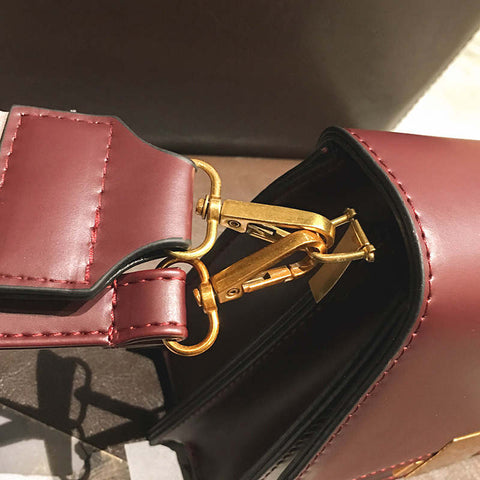Jolene Flap Leather Shoulder Handbag