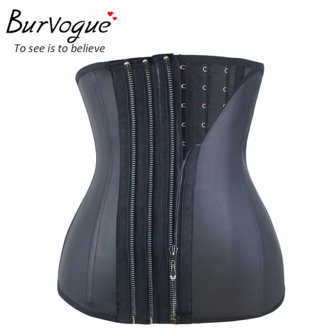 Zipper Corset Underbust with Bones Shapewear