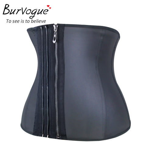 Image of Zipper Corset Underbust with Bones Shapewear