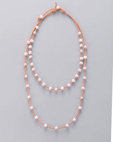 Image of Merak Classic Natural Pearls Necklace