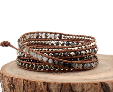 Image of Luningning Multilayer Weaving Beaded Bracelet
