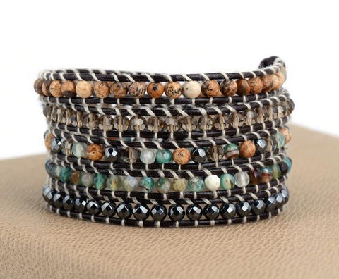 Image of Nehir Multi-Layered Vintage Bohemia Bracelet