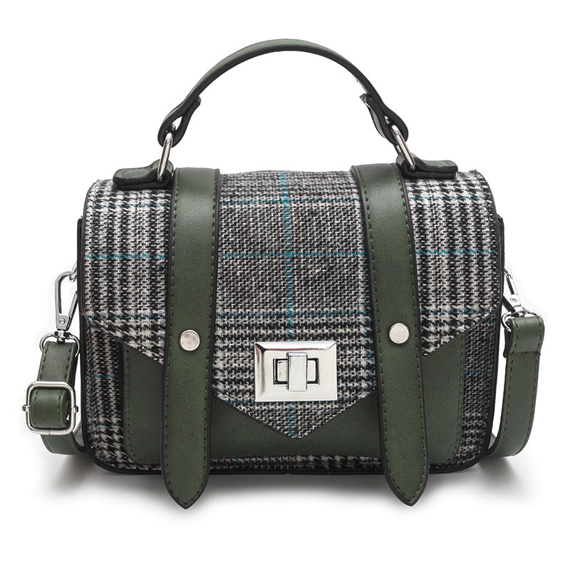 Anriete Patchwork Crossbody Handbag