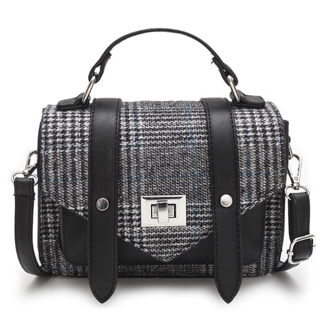 Image of Anriete Patchwork Crossbody Handbag
