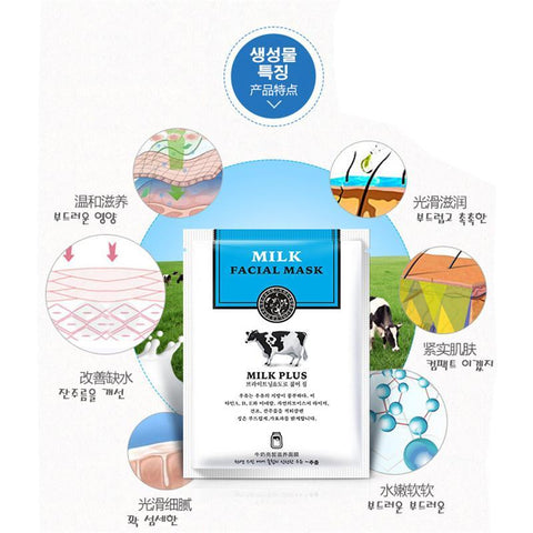 Image of HANCHAN Milk Oil Control Facial Mask