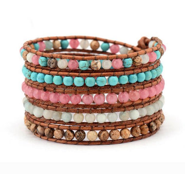 Reyna Multilayer Beaded Bracelet