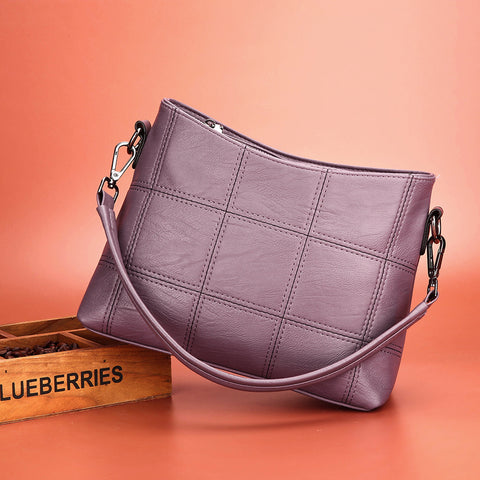 Image of Gaele PU Leather Crossbody Handbag