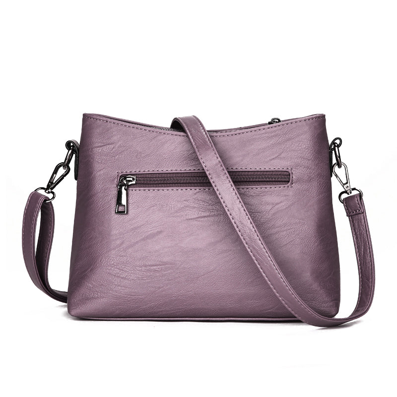 Gaele PU Leather Crossbody Handbag