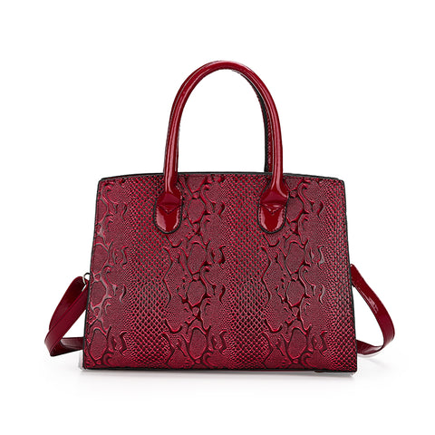 Clementina Embossed Crossbody Handbag