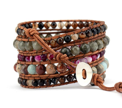 Eylül Multi-Layered Bohemia Statement Bracelet